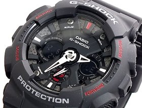G-Shock Analog-Digital Black Dial Mens Watch - Ga-120-1