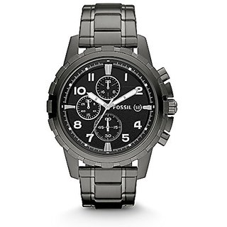 Fossil Dean Chronograph Black Dial Mens Watch - Fs4721
