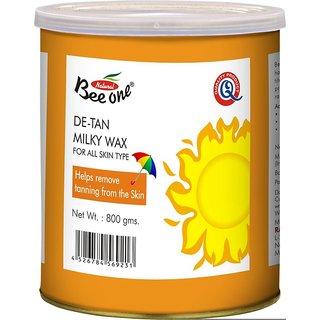 GoodsBazaar Beeone De-Tan Milky Wax (800 Grams)