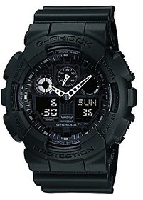 G-Shock Analog-Digital Black Dial Mens Watch - Ga-100-1