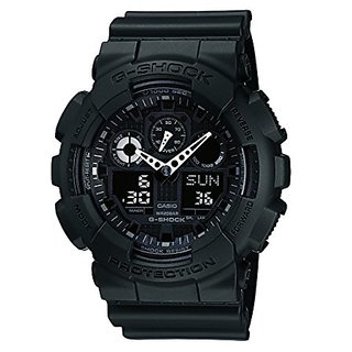 Casio G-Shock GA-100-1A1DR (G270) Analog-Digital Black Dial Men's Watch