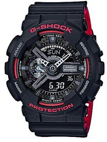 G-Shock Analog-Digital Black Dial Mens Watch-Ga-110Hr-1