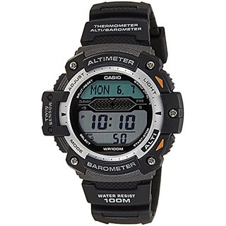 Casio Outdoor Digital Grey Dial Mens Watch - Sgw-300H-1Avdr (S059)