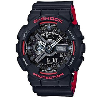 Casio G-Shock GA-110HR-1ADR (G700) Analog Digital Black Dial Men's Watch