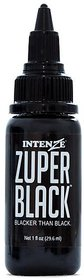 Tattoo Zuper Black Ink - 30ml