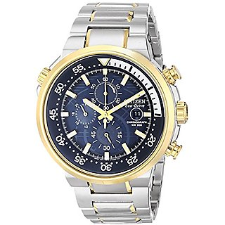 Citizen Analog Blue Dial Mens Watch-Ca0444-50L