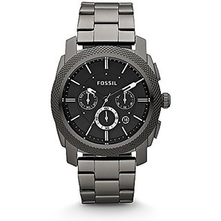 Fossil Machine Chronograph Black Dial Mens Watch - Fs4662