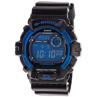 G-Shock Digital Blue Dial Mens Watch - G-8900A-1Dr (G354)