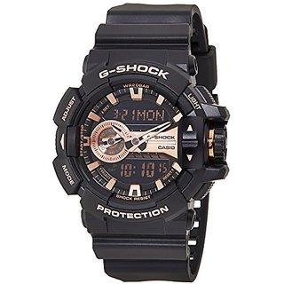 G-Shock Analog-Digital Brown Dial Mens Watch - Ga-400Gb-1A4Dr (G650)