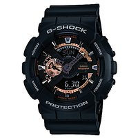 G-Shock Analog-Digital Black Dial Mens Watch - Ga-110Rg