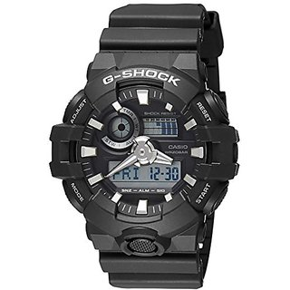 Casio G-Shock GA-700-1BDR (G715) Analog Digital Black Dial Men's Watch (GA-700-1BDR (G715))