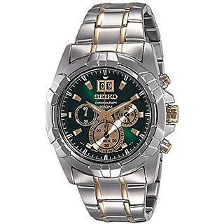 Seiko Lord Analog Green Dial Mens Watch-Spc186P1