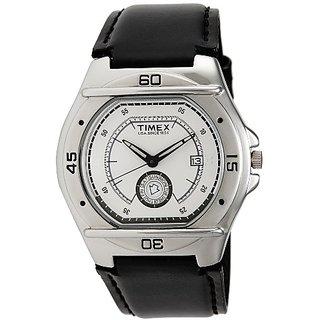 Timex Fashion Analog Silver Dial Mens Watch-El00