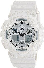 Casio G-Shock Analog-Digital White Dial Mens Watch-Ga-1