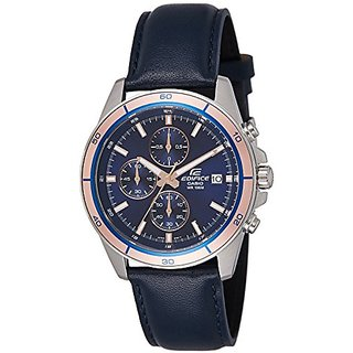 Casio Chronograph Blue Dial Mens Watch-Efr-526L-2Avudf