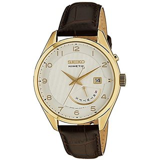 Seiko Dress Analog White Dial Mens Watch - Srn052P1