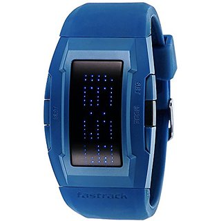 Fastrack Digital Black Dial Watch For Men-38014Pp02