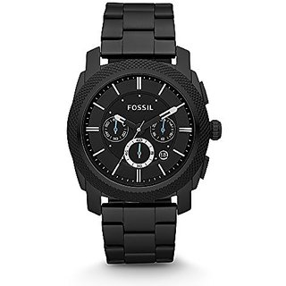 Fossil Analog Black Dial Mens Watch - Fs4552