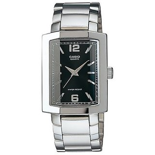 bc1f309b5c0f10 Buy Casio Enticer Analog Black Dial Mens Watch - Mtp-1233D-1Adf ...