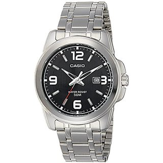 Casio Enticer Analog Black Dial Mens Watch - Mtp-1314D-1Avdf (A550)