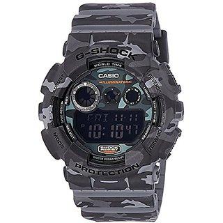 G-Shock Digital Grey Dial Mens Watch - Gd-120Cm-8Dr(G514)