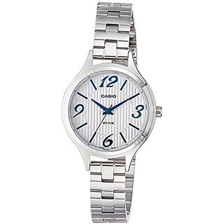 Casio Enticer Ladys Analog White Dial Womens Watch - Ltp-1393D-7A1Vdf (A1031)