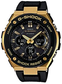 Casio G-Shock Analog-Digital Black Dial Mens Watch-Gst-