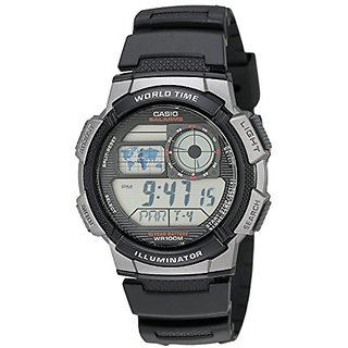 Casio Youth Stopwatch Digital Black Dial Mens Watch - Ae-1000W-1Bvdf (D081)