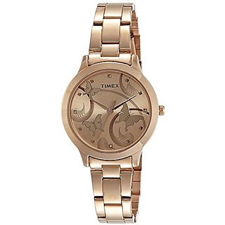 Timex Fashion Analog Brown Dial Womens Watch-Tw000T610