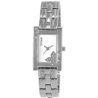 Titan Raga Analog Silver Dial Womens Watch - Ne9716Sm01J