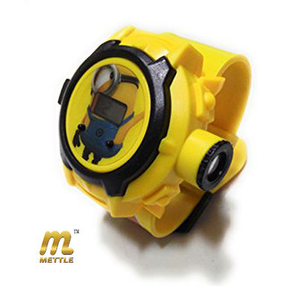 METTLE (TM.) MT-KDW1701 NEW DESPI ME3 -24 Different Images Projector Digital Toy Watch