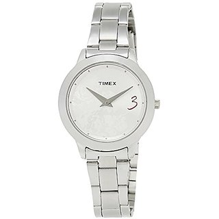 Timex Fashion Analog Silver Dial Womens Watch - Ti000T60000