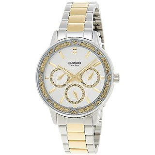 Casio Enticer Analog Multi-Color Dial Womens Watch - Ltp-2087Sg-7Avdf (A905)