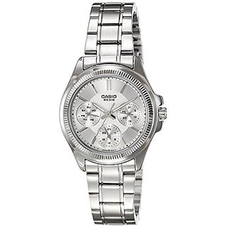 Casio Enticer Analog Silver Dial Womens Watch - Ltp-2088D-7Avdf (A934)