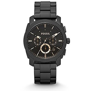 Fossil Chronograph Analogue Black Dial Mens Watch -Fs4682