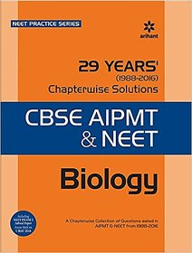 29 Years Biology Chapterwise Solutions for CBSE AIPMT  NEET