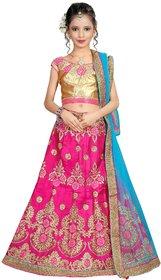 Surupta Pink Color Silk Embroidered Designer Party Wear Circular Lehenga Choli of 32 Size    Sunena_51648_32