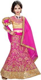 Surupta Pink Color Net Embroidered Designer Party Wear Lehenga Choli Of Size 36     Shivani_51601_36