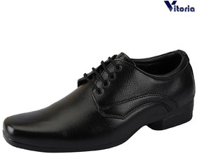 Vitoria Black Formal Shoes For Men