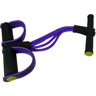 Instafit 4 Rubber Tummy Trimmer Ab Exerciser (Purple)