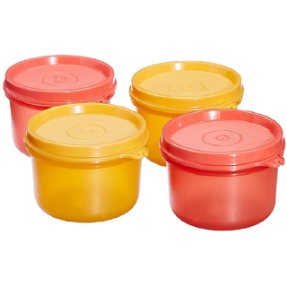 Tupperware Tropical Twin Round, Set Of 4 (multicolor)