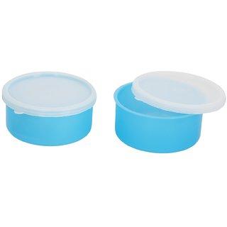 2 Blue Container-2 Plastic container