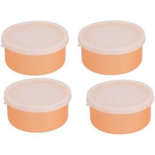 Combo Pack of 2 orange Plastic Container