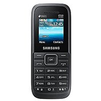 Samsung Guru FM Plus (Dual Sim, 1.5 Inch, Black) B110e