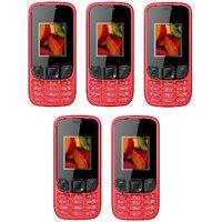 Pack Of 5 IKall K29 (Dual Sim, 1.8 Inch Display, 800 Ma