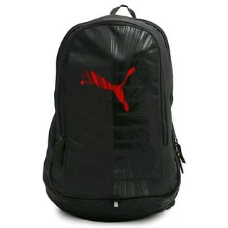 Puma Graphic 15 L Backpack with Red Puma logo