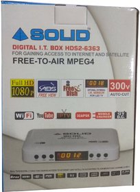 HDs2-6363 Dth Set Top Box Media Player Full HD Free To Air by Webshoppers