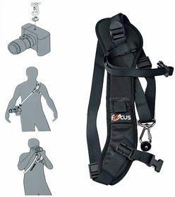 Focus F1 Sling Shoulder Strap Quick Rapid Carry For Camera DSLR Canon Nikon
