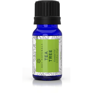 Rey Naturals Tea Tree Essential Oil for Skin, Hair and Acne care - 10 ML