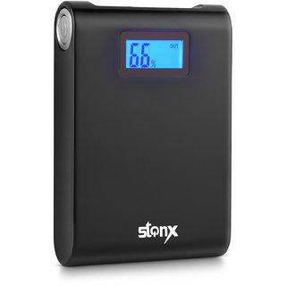 Stonx 13k Black Digital 13000 Mah Power Bank (Black)